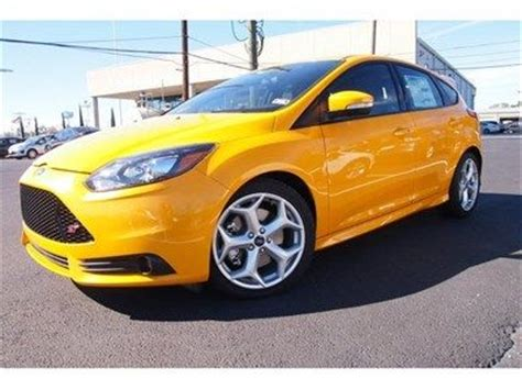 sell   ford focus st hatchback  turbo manual