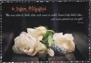 mein beileid sprüche trauerkarte text beileidskarte beileidsspruch in tiefem mitgefühl doppelkarten