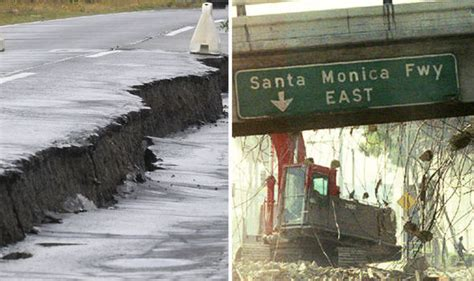 Californian Earthquake Could Cause Land To Plunge 3 Feet
