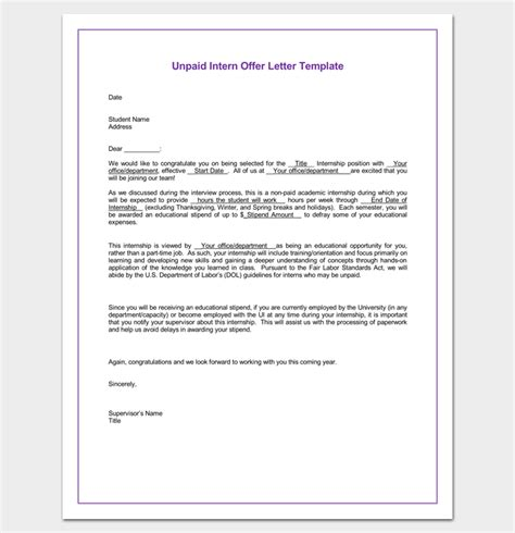 appointment letter word document 28 images appointment