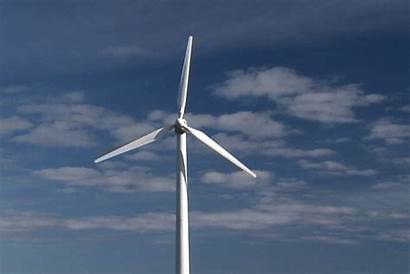Wind Turbine Gifs Energy Animated Giphy Blown