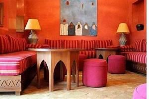 deco interieur salon oriental With idee deco salon oriental