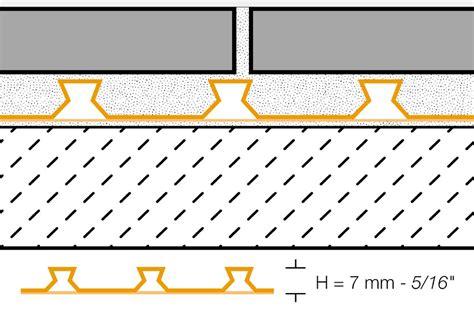 ditra xl tile underlayment schluter 174 ditra ditra xl uncoupling ditra