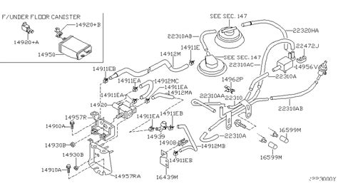 Frontier V6 Engine Diagram by 2002 Nissan Frontier Engine Diagram Automotive Parts