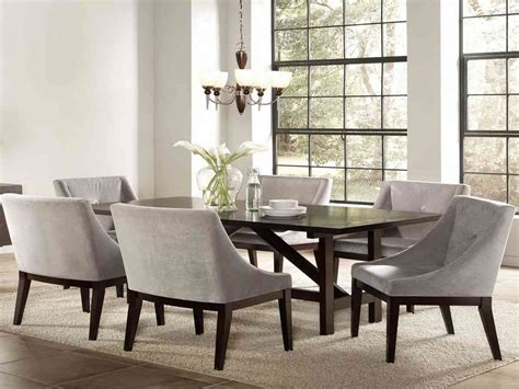 dining room sets  upholstered chairs decor