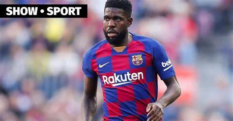 Umtiti and Fati returned to team training — barcelona, la ...