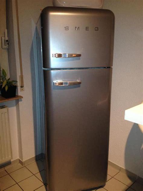 Retro Kühlschrank Silber by Merken