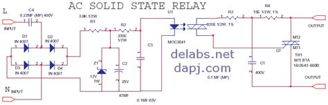 Solid State Relay Ssr Del