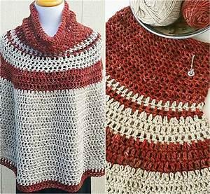 10+ Free & Stunning Crochet Poncho Patterns – Luna Poncho