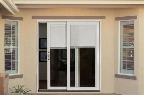 exterior patio doors with blinds photo gallery patio