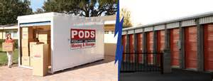 Pods Estimate by Compare Pods To Self Storage Pods