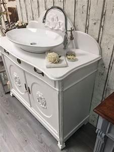 Badmöbel Vintage Style : die besten 25 antiker waschtisch ideen auf pinterest ~ Michelbontemps.com Haus und Dekorationen