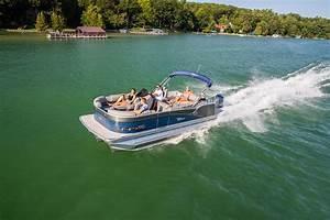 Cascade Platinum Rear J Lounger Pontoon Boat