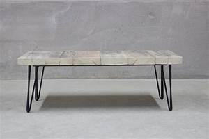 Hairpin Legs Baumarkt : east west reclaimed coffee table with hairpin legs by rust collections ~ Frokenaadalensverden.com Haus und Dekorationen