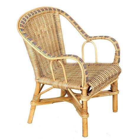 chaise paille fauteuil enfant rotin naturel couleur vannerie du boisle