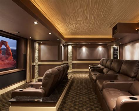 Home Theater Ceiling Design by 35 Modern Media Room Designs That Will Blow You Away