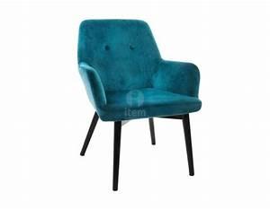 Fauteuil Crapaud Bleu Canard : fauteuil bleu canard vert fonc pas cher moderne ~ Teatrodelosmanantiales.com Idées de Décoration