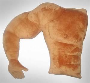 Muscular Arm Boyfriend Pillow