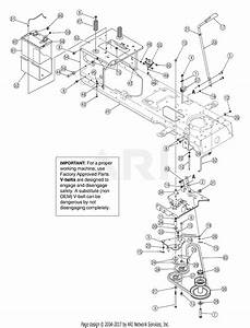 Mtd 13bt604h755  2005  Parts Diagram For Pto