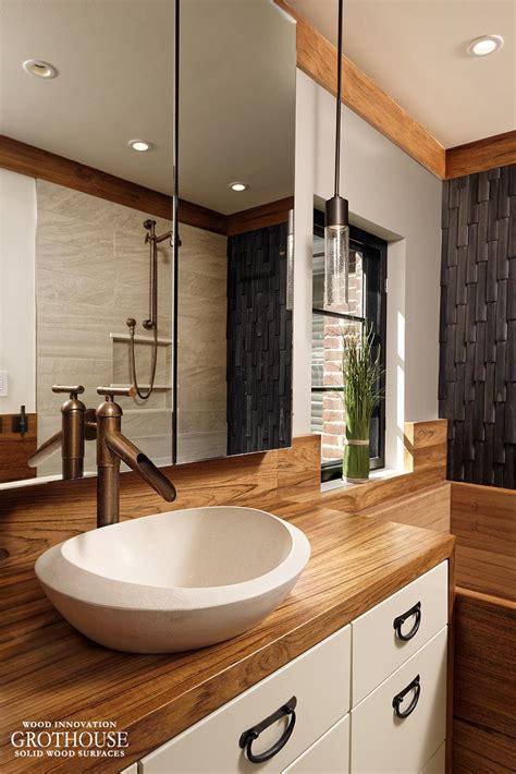 custom vanity tops custom teak wood vanity top for a bathroom in washington dc