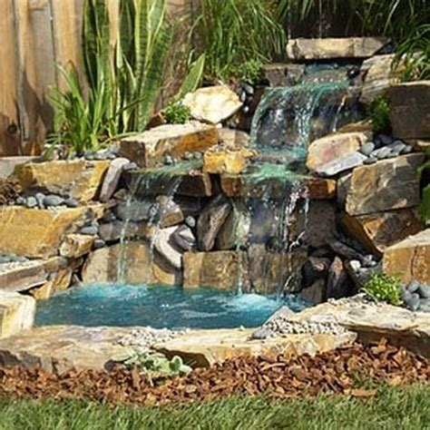 waterfall pond ideas 4 home waterfalls ideas