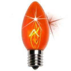 c9 christmas light bulb c9 twinkle amber orange christmas light bulbs