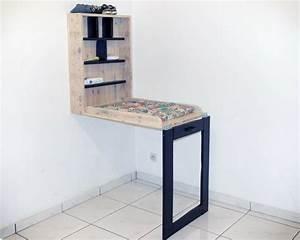 Table A Langer Design : r cup design table langer cadre en bois de palettes ~ Teatrodelosmanantiales.com Idées de Décoration