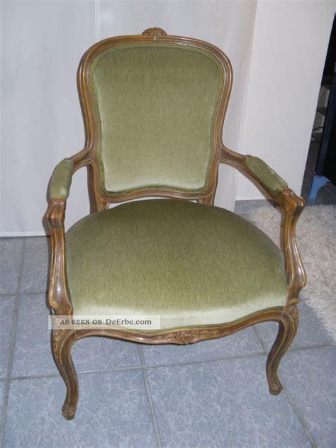 stuhl sessel antik sch 246 ner barock sessel stuhl antik gr 252 n samt