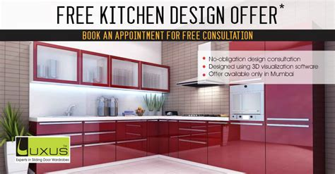 Design Your Dream Kitchen For Free  Luxus India