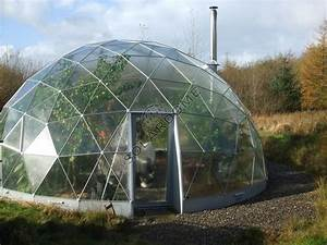 A geodesic dome green house | Residential Domes ...