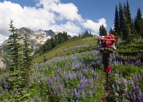 backpack glacier peak washington sierra club outings