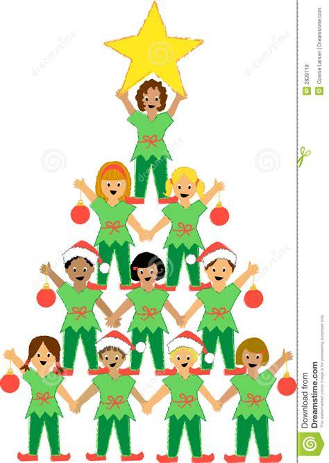 arbol de navidad para niã os 193 rbol de navidad de ni 241 os fotos de archivo libres de regal 237 as imagen 2829718