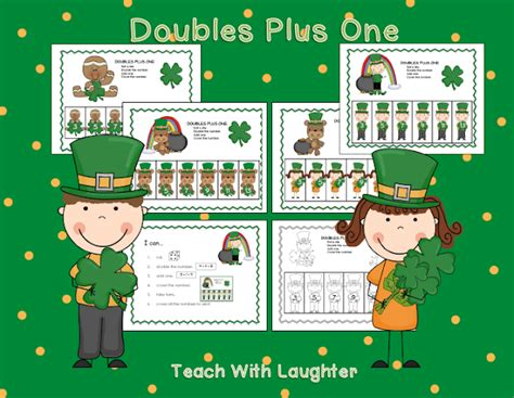 Teach With Laughter St Patrick's Doubles Plus One