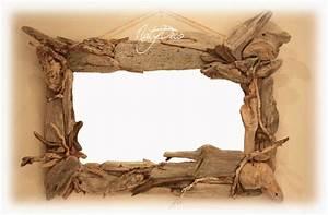 Cadre En Bois Flotté : cadre photo en bois flott d coration en bois flott et divers d corations ~ Teatrodelosmanantiales.com Idées de Décoration