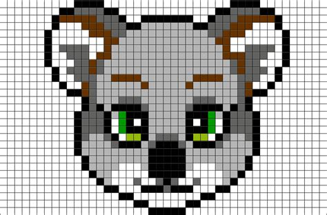 Koala Bear Pixel Art