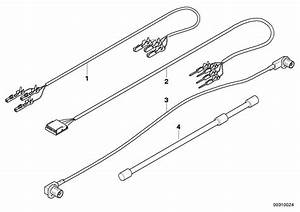 Bmw X5 Fbas Lead  L  4550 Mm  Cable