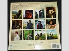Preview the 2016 'Outlander' Wall Calendar Outlander TV News