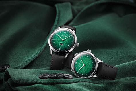 green watches  added  fresh touch  colour  baselworld