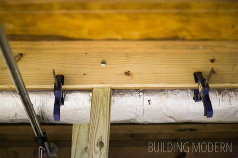 sistering floor joists with plywood building modern a modern diy renovation