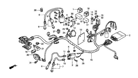 Honda Shadow Vt1100 Wiring And Electrical System Diagram by 1100 Honda Shadow Wiring Diagram Honda Wiring Diagram