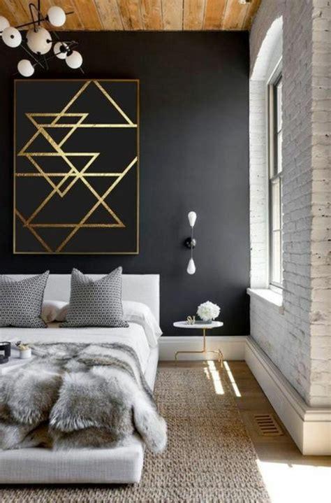 chambre en noir et blanc idées chambre à coucher design en 54 images sur archzine fr
