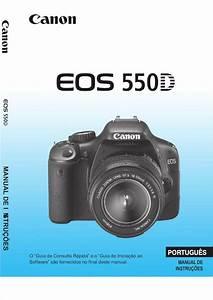 Canon Eos T2i 550d Rebel - Manual Pt-br