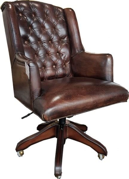 dark brown leather desk chair casa padrino luxury leather executive chair office chair