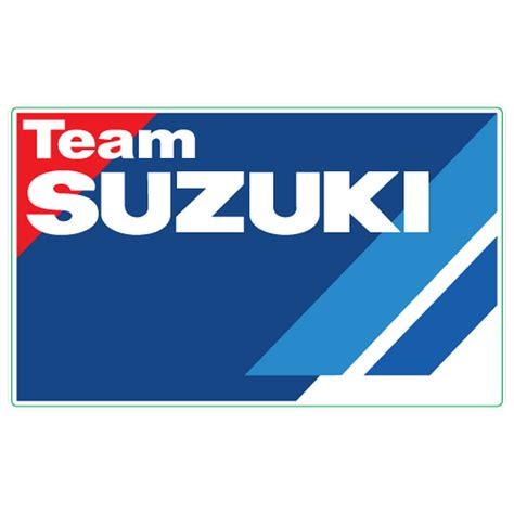 Suzuki Stickers by Team Suzuki Logo Decal