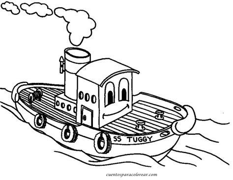 Barco De Vapor Dibujo Para Colorear by Barco A Vapor Az Dibujos Para Colorear