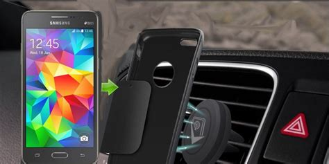 support aimant telephone voiture support voiture pour samsung galaxy grand prime top 5