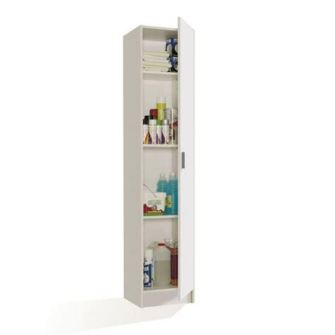 largeur porte chambre multiusos armoire rangement 1 porte blanc achat vente