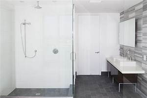 Installing Adhesive Type Tub And Shower Surround Panels