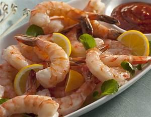 Fresh Jumbo Cooked Shrimp Cocktail   Legal Sea Foods