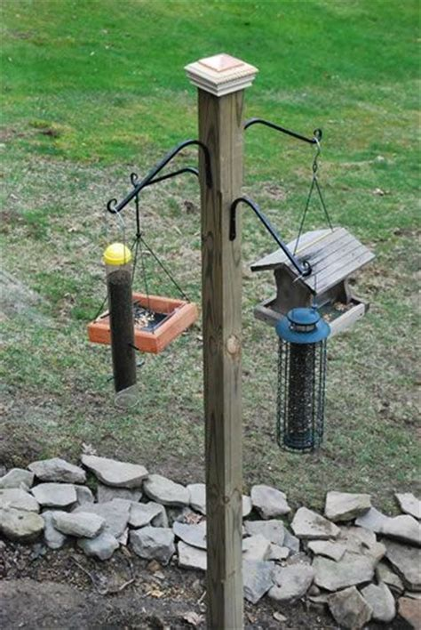 bird feeder pole bird feeder pole ideas woodworking projects plans